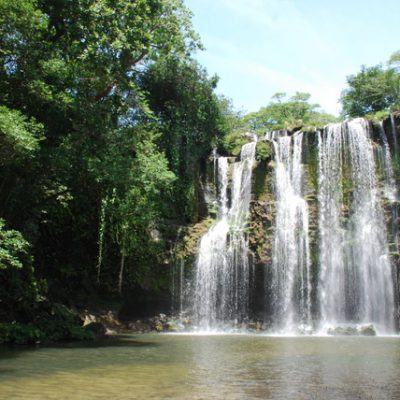 Hiking the Tenorio Rain Forest and Llanos del Cortez waterfall