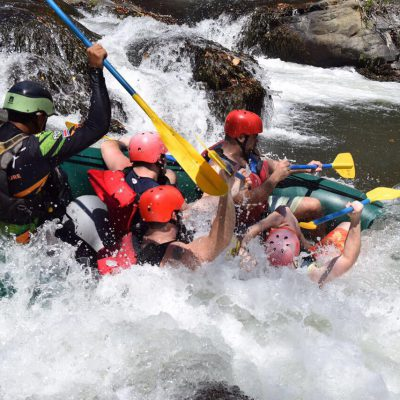 White Water Rafting on the Tenorio River
