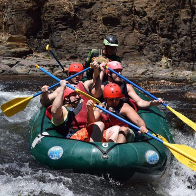 Rafting the Colorado River Class III – IV or Tubing and Cortez Waterfall