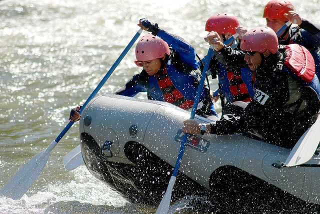 White Water Rafting Pozo Azul